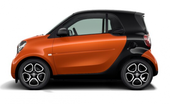 SMART fortwo coupè 52kW youngster twinamic pieno